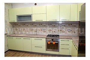 Угловая кухня 3800×2150 - Мебельная фабрика «ТРИ-е»