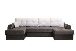 Угловой диван Оскар 2 c  двумя оттоманками  - Мебельная фабрика «Ваш стиль»