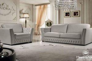 красивая мягкая мебель Честерио с «капитоне» - Мебельная фабрика «МебельЛайн»