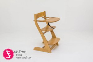 Стул детский растущий Усура древесный - Мебельная фабрика «Бельмарко»