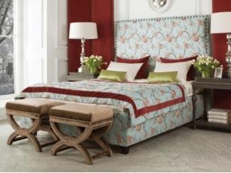Кровать с цветами Камелот  - Мебельная фабрика «Рой Бош»