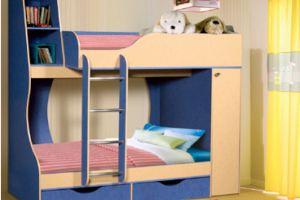 Кровать двухъярусная-05 - Мебельная фабрика «Калинковичский мебельный комбинат»