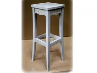 Табурет из массива сосны  - Мебельная фабрика «Адриати»