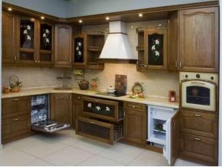 Кухня из массива KMS 1 - Мебельная фабрика «FSM (Фабрика Стильной Мебели)»