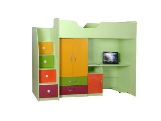 Детская кровать-чердак Юниор - Мебельная фабрика «Антей»