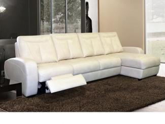 кожаный угловой диван Эшфорд