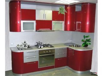 Кухонный гарнитур угловой Пиро - Мебельная фабрика «Градиент-мебель»