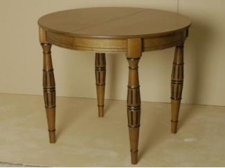 Круглый стол из дерева Изумруд К 900 - Мебельная фабрика «ЛНК мебель»