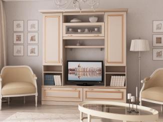 Гостиная стенка Валенсия 3 - Мебельная фабрика «Рось»