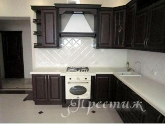 Кухня из массива дерева BRITANIKA - Мебельная фабрика «Престиж»