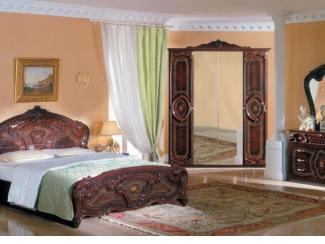 Спальный гарнитур «Роза» - Мебельная фабрика «ИнтерДизайн»