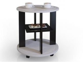 Компактный передвижной столик на колесиках Сибирь - Мебельная фабрика «Фран»