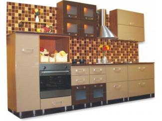 кухня Золушка Сидак (шоколад) - Мебельная фабрика «Киржачская мебельная фабрика»