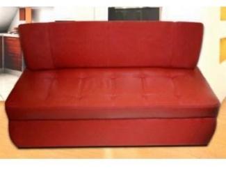 Красный диван без подлокотников Влада 16
