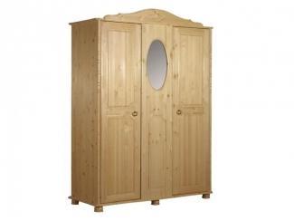 Трехстворчатый шкаф серии Айно - Мебельная фабрика «Timberica»