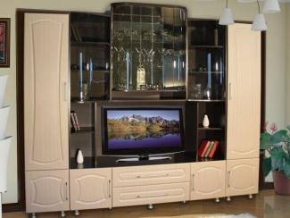 Гостиная стенка Татьяна-Люкс 2 - Мебельная фабрика «Кошелев и К»