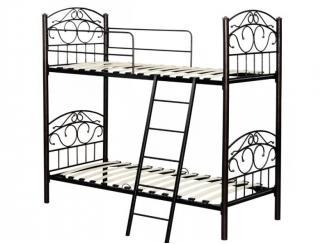 Кровать двухъярусная одинарная Анжелика М2я - Мебельная фабрика «MILANA GROUP»