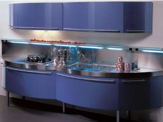 Кухонный гарнитур прямой Волна-Мидл