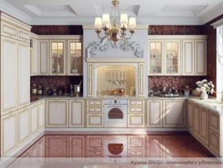 Кухонный гарнитур угловой Соната Голд