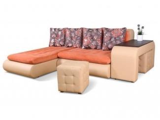 Угловой диван со столом Сенатор  - Мебельная фабрика «DiArt», г. Ижевск