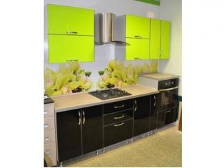 Кухня с фасадом Акриловый пластик - Мебельная фабрика «GradeMebel»