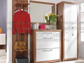 Прихожая прямая Эди - Импортёр мебели «БРВ-Мебель (Black Red White)»
