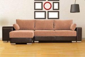 Угловой диван кровать Соренто с широким подлокотником