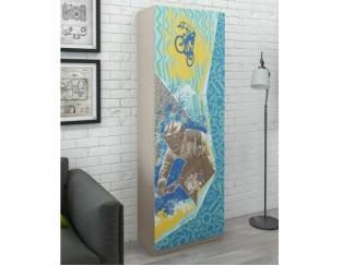 Шкаф распашной Юна 403  - Мебельная фабрика «ВасКо»