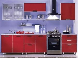 Кухня в алюминиевой рамке - Мебельная фабрика «Лига Плюс»