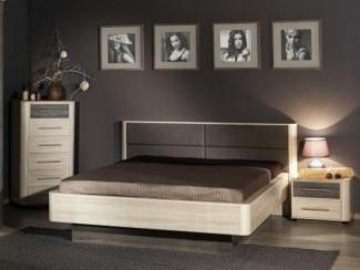 спальный гарнитур Бруна комплект. 1 - Мебельная фабрика «Любимый дом (Алмаз)»
