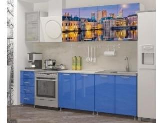 Прямая кухня Гаага с фотопечатью - Мебельная фабрика «Манго»