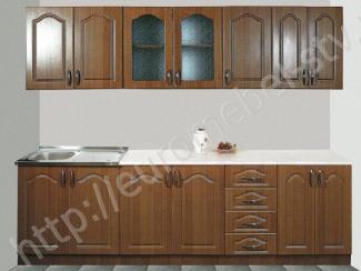 Кухонный гарнитур прямой Классика - орех