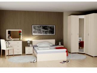 Спальный гарнитур Береста 3 - Мебельная фабрика «Волхова»