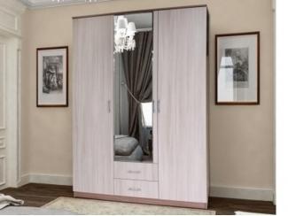 Светлый шкаф 3 створки Лиза - Мебельная фабрика «Грааль», г. Пенза