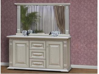 Комод для спальни с зеркалом - Мебельная фабрика «Астмебель»