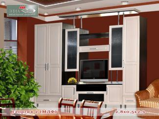 Гостиная стенка Георгия-2 - Мебельная фабрика «Элна»