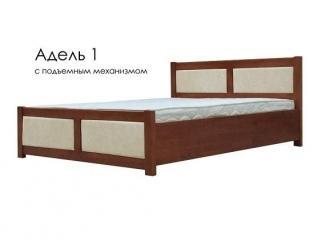 Кровать Адель 1 СПМ ЭкоКожа - Мебельная фабрика «Фактура мебель»
