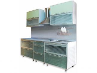 кухня Визит в узкой алюминиевой рамке - Мебельная фабрика «Киржачская мебельная фабрика»