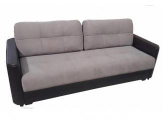 Прямой диван Юджин в  цвете Nice pebble  - Мебельная фабрика «Доступная мебель», г. Рязань