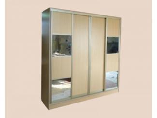 Шкаф-купе 4 створки с зеркалом - Мебельная фабрика «Мартис Ком»