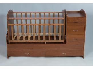 Детская кроватка КТП ЛДСП - Мебельная фабрика «Папа Карло»