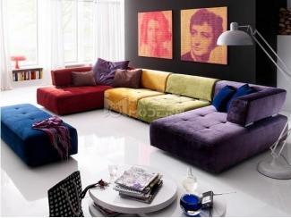Цветной диван Рено  - Импортёр мебели «MÖBEL MODERN», г. Москва