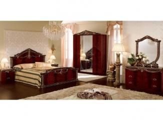 Коричневая спальня Люксор  - Импортёр мебели «Camelgroup (Италия)»