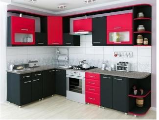 Прямая матовая кухня - Мебельная фабрика «Интерьер»