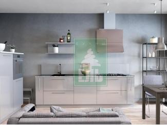 Кухня прямая Ель 6 - Мебельная фабрика «Ель кухни»