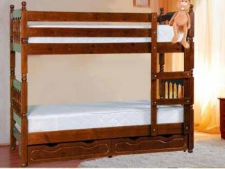 Кровать двухъярусная Аврора