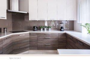Кухня пластик 6 - Мебельная фабрика «ПластДекор»