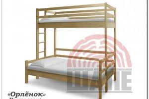 Детская двухъярусная кровать Орленок - Мебельная фабрика «ВМК-Шале»