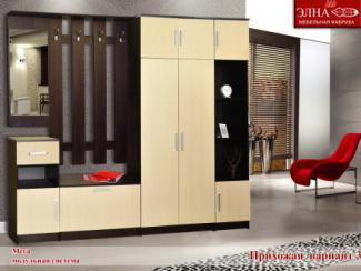 Прихожая Мега вариант 3 - Мебельная фабрика «Элна»