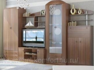 Гостиная стенка Герда - Мебельная фабрика «Мебель-комфорт», г. Березовский